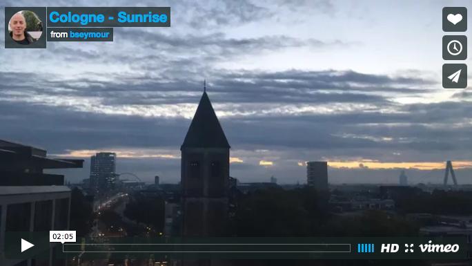 Cologne Sunrise